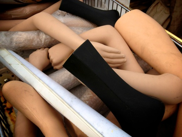 limbs of lost mannequins