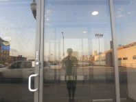 yr humble narrator (reflected)